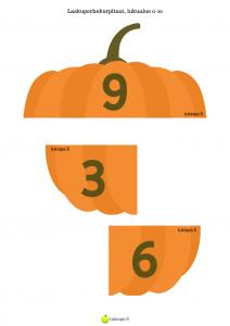 halloween, kurpitsa, alkuopetus