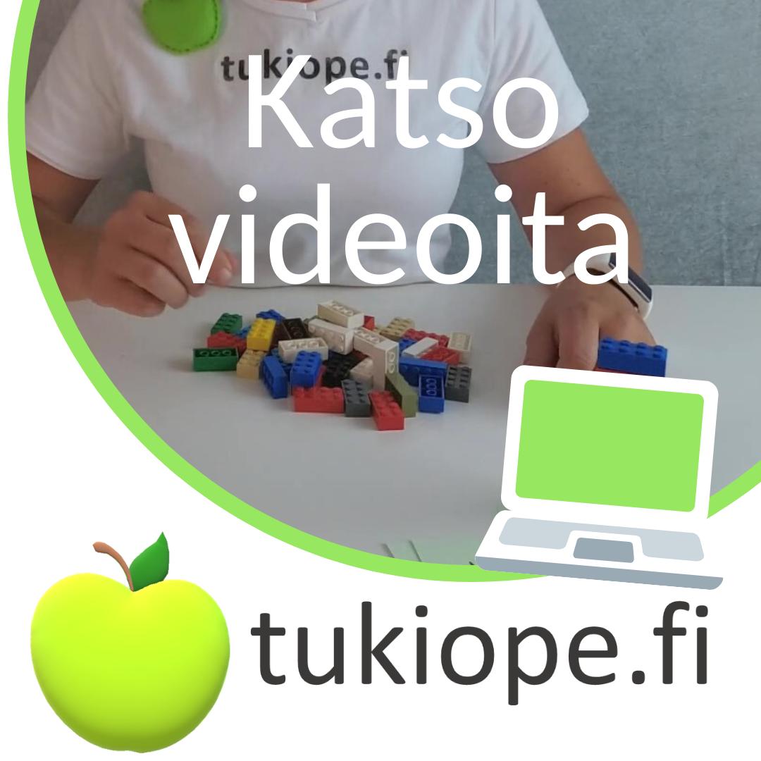 Tukiopetusta videolla