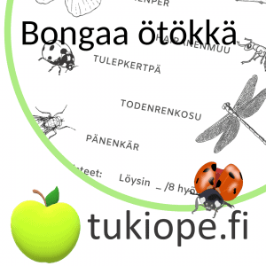 etsi hyönteiset